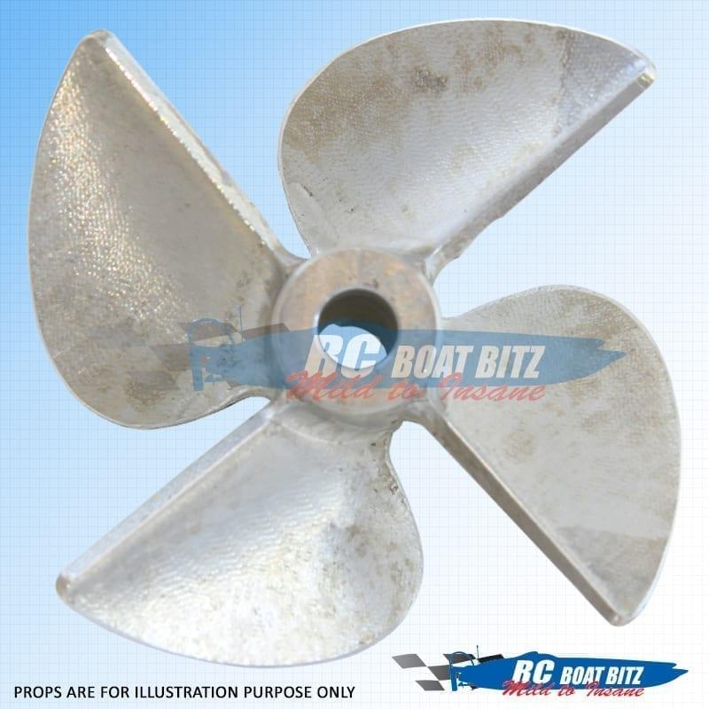 CNC Props Alloy 4 Blade