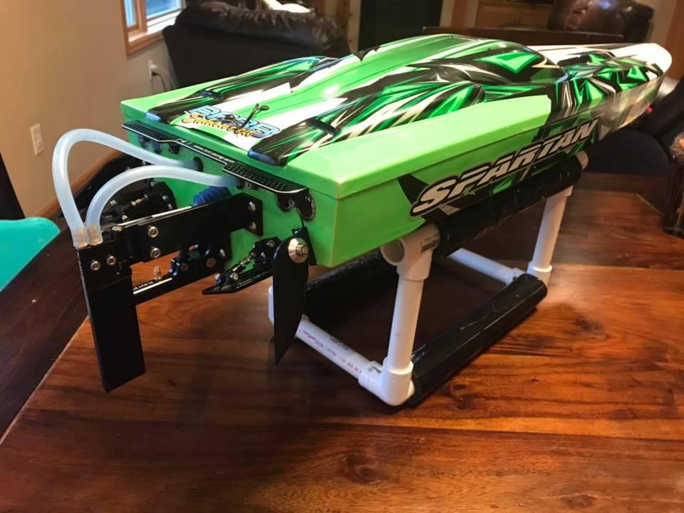 Jason Dietrich's Green spartan with RCBB hardware kit in black