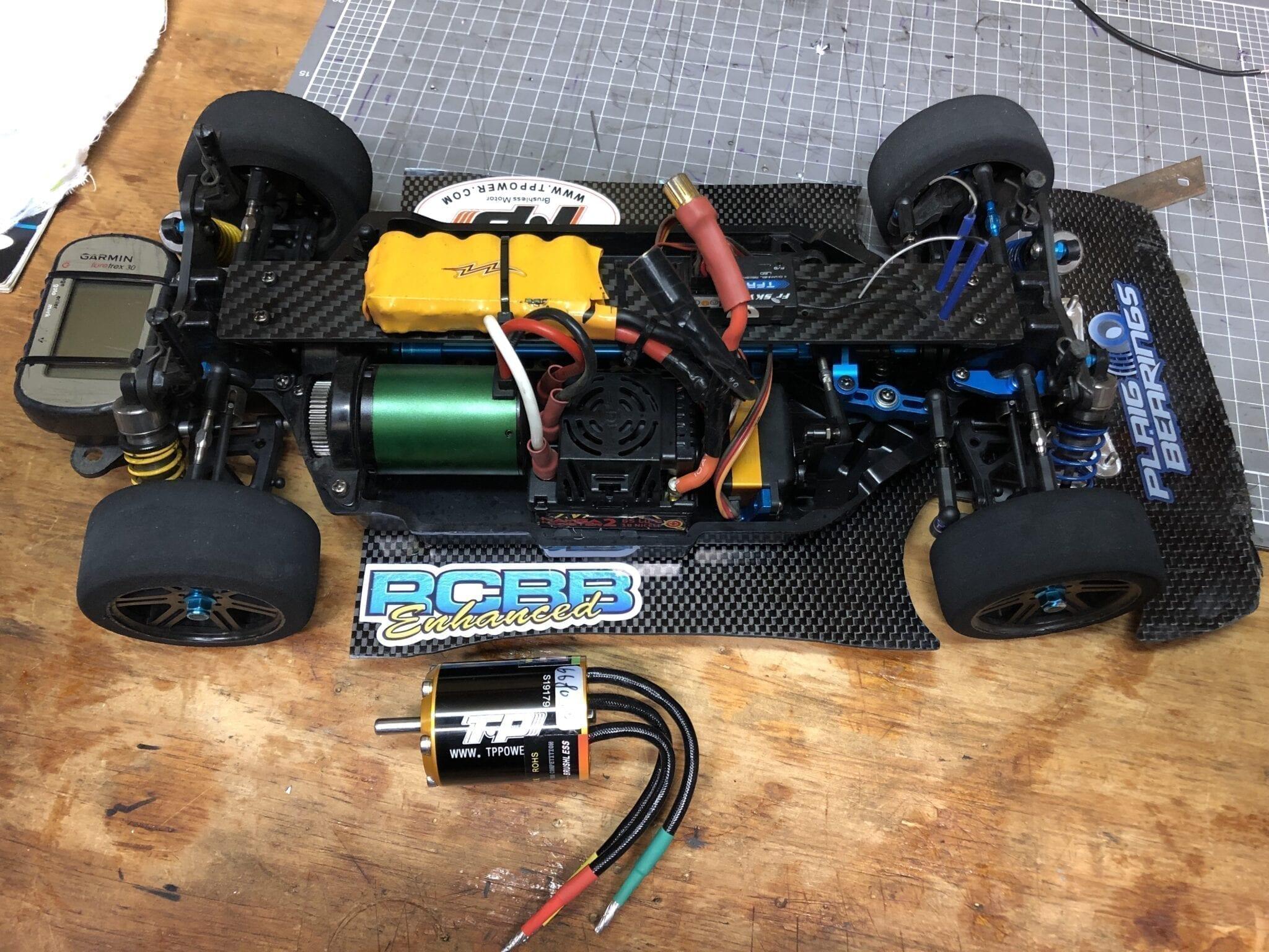 TP powered car running 116mph